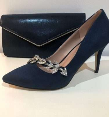Lotus Alyssa Navy Court Shoe