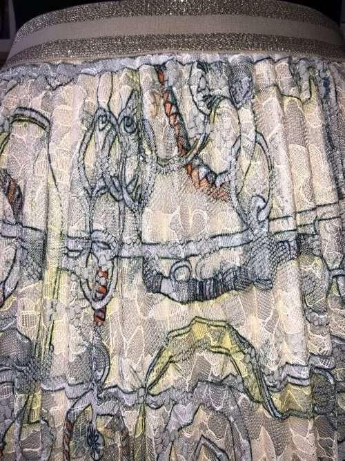 Darling - Pastel Florentine Lace Skirt