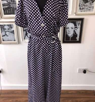 Darling Cube Pattern Jumpsuit