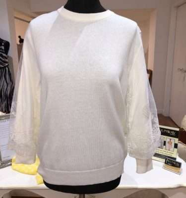 Darling Flamboyant Trim Knit