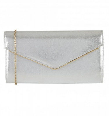 Lotus - Nila Clutch Bag in Pink or Silver