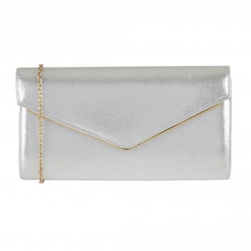Lotus - Nila Clutch Bag in Pink or Silver