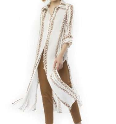 Camelot - Chain Pattern Tunic Dress