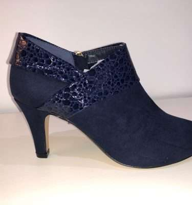 Lotus Angela Trouser Shoe in Black or Navy