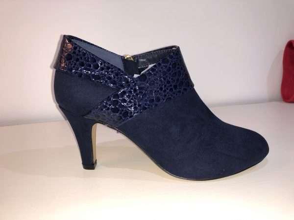 Lotus Angela Trouser Shoe in Black or Navy