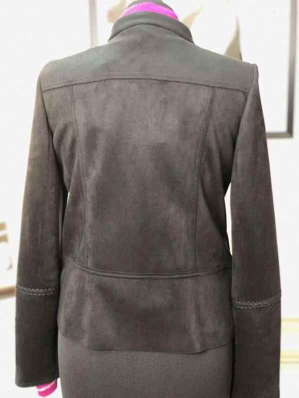 i'cona Moleskin Zipped Jacket