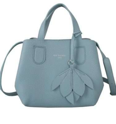 Mint Grab Bag with Flower Detail