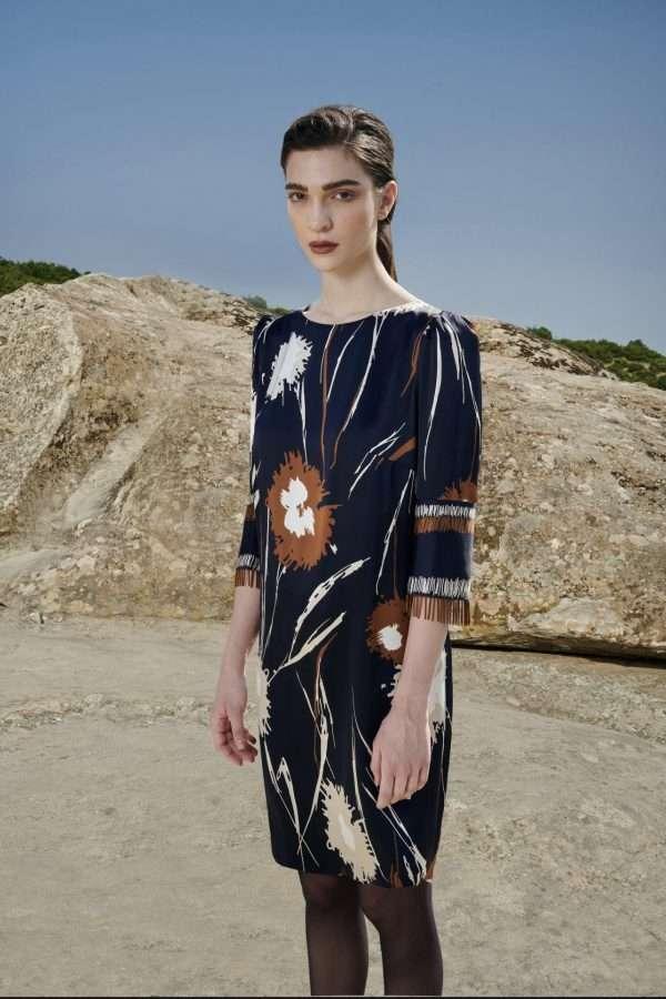 Badoo Multi Print Dress